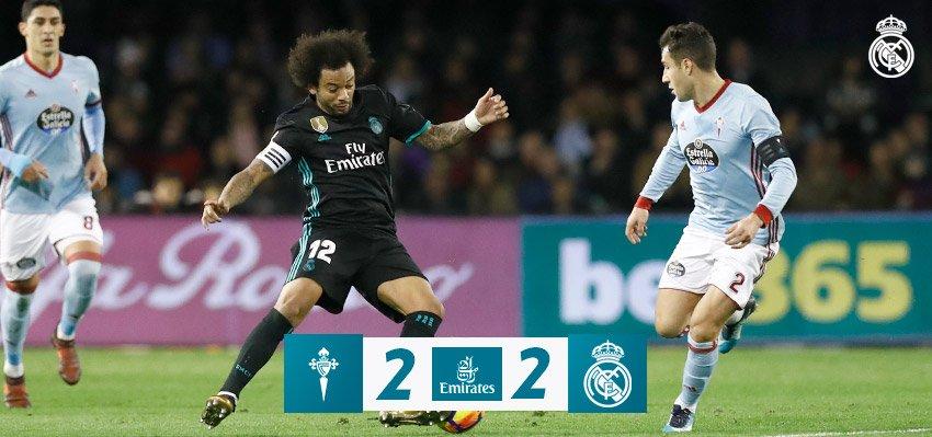 Celta de Vigo vs Real Madrid 2-2 Highlight Download
