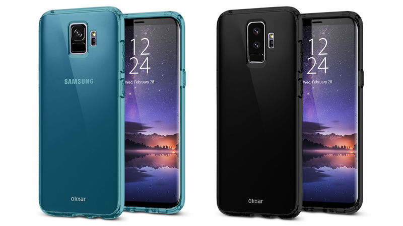 Samsung Galaxy S9 Olixar cases