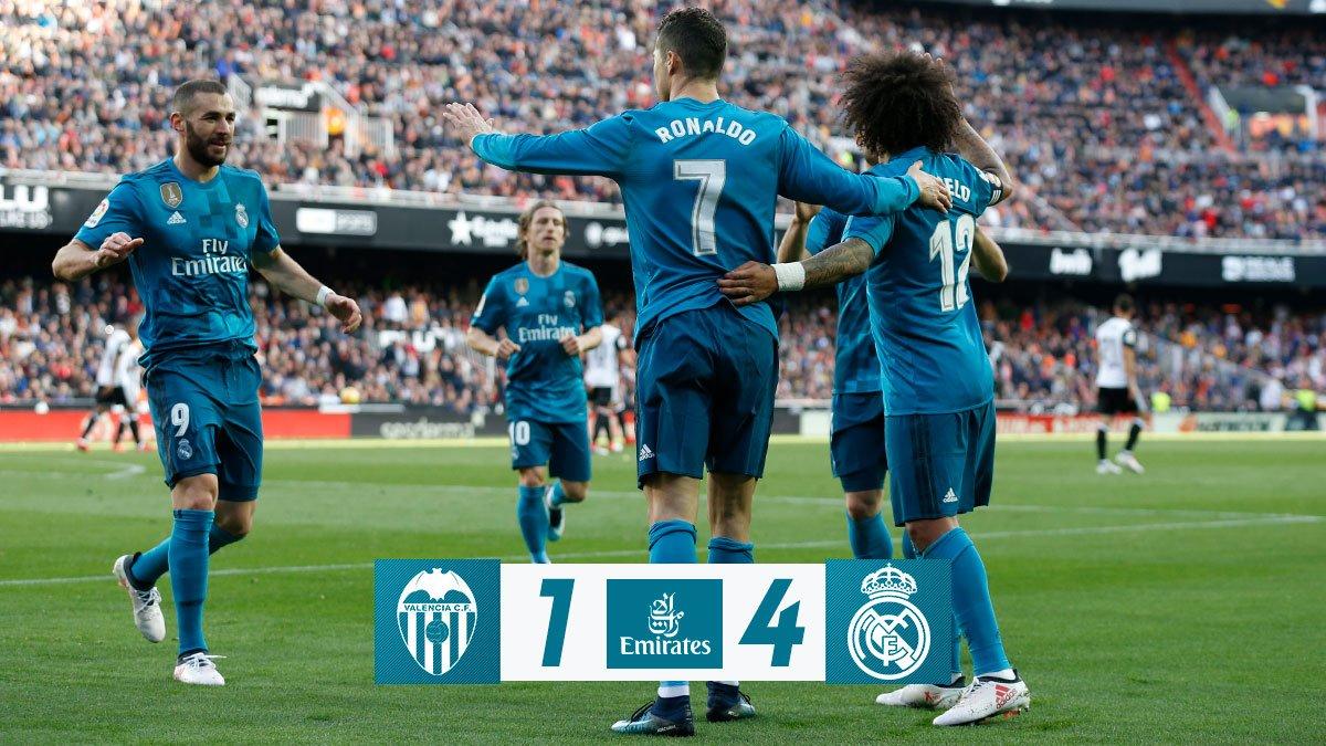 Valencia vs Real Madrid 1-4 Highlight Download
