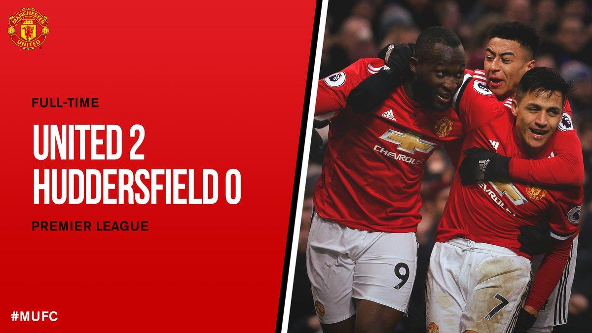 Manchester United vs Huddersfield 2-0 Highlight Download