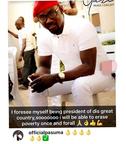 Nigerian Fuji Musician, Pasuma Wonder Reveals His  'Presidential Ambition' Ahead Of 2019 Election