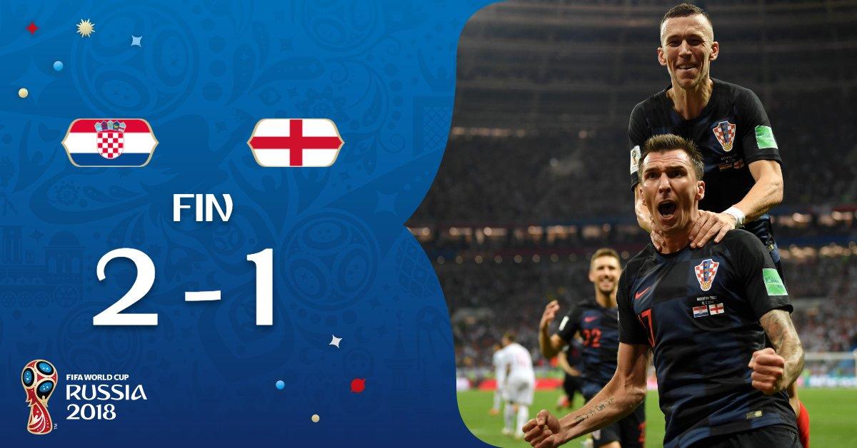 Croatia vs England 2-1 Highlight Download