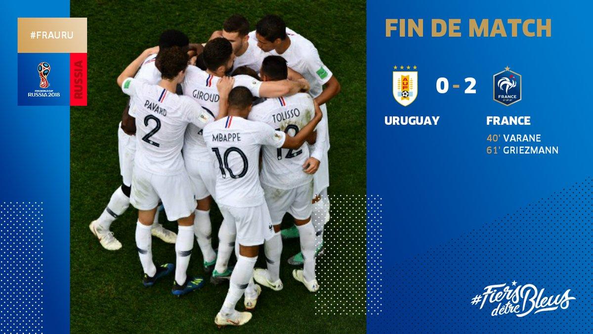 Uruguay vs France 0-2 Highlight Download