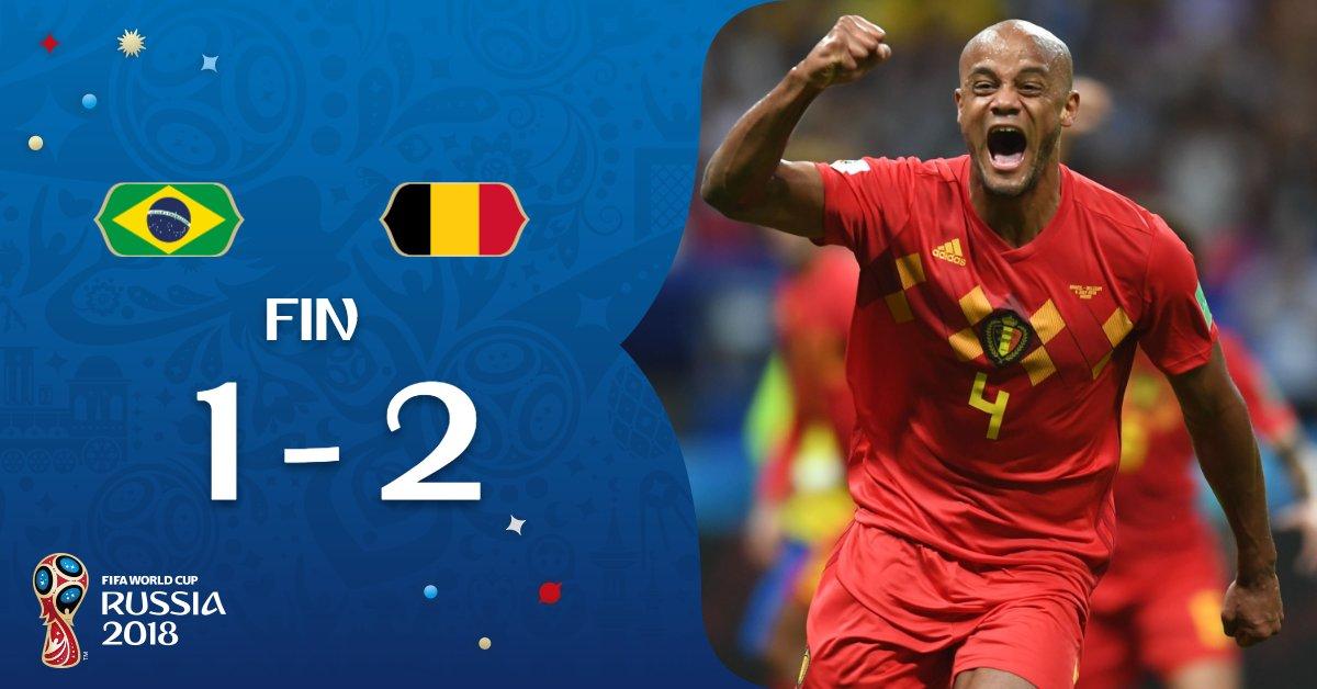 Brazil vs Belgium 1-2 Highlight Download