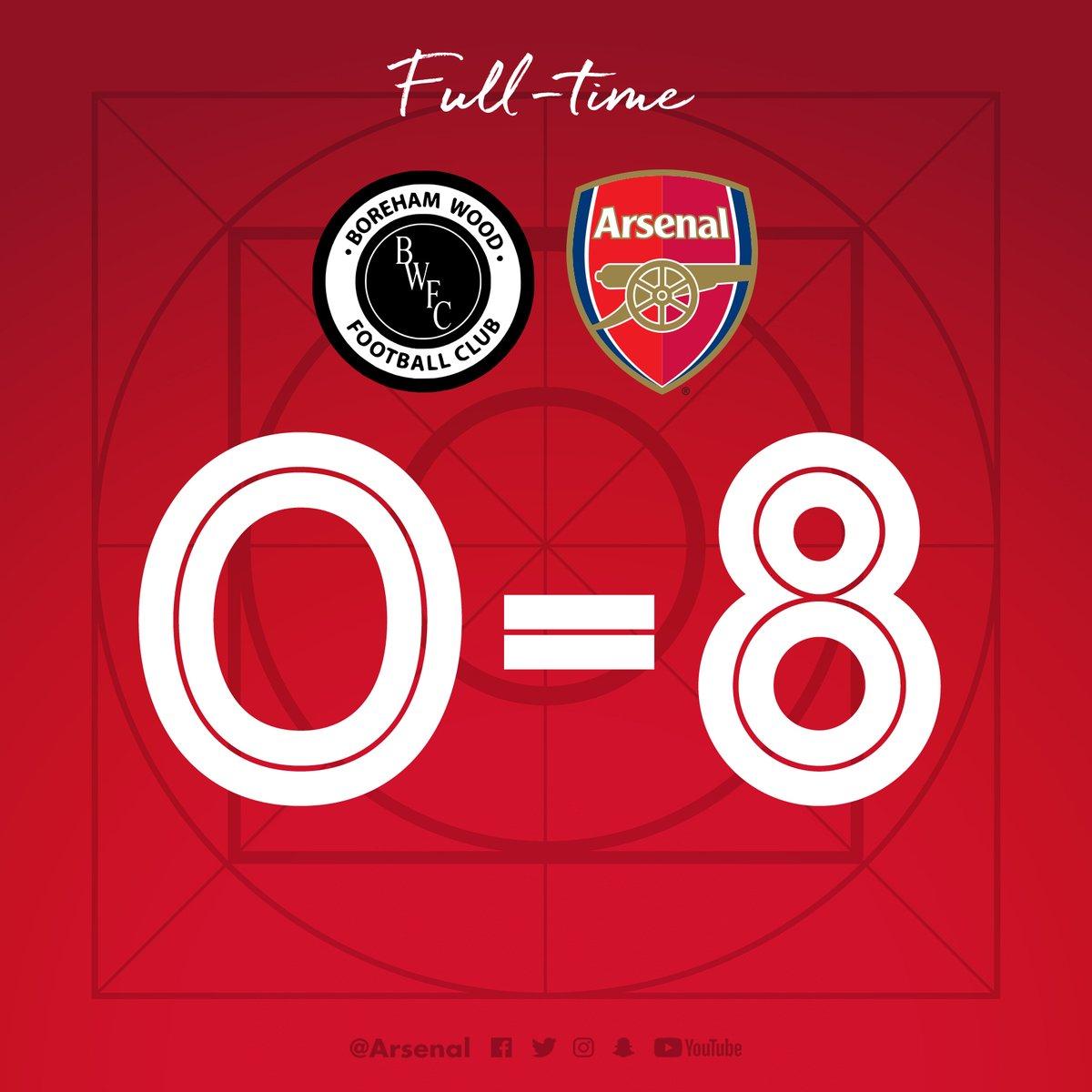 Boreham vs Arsenal 0-8 Highlight Download