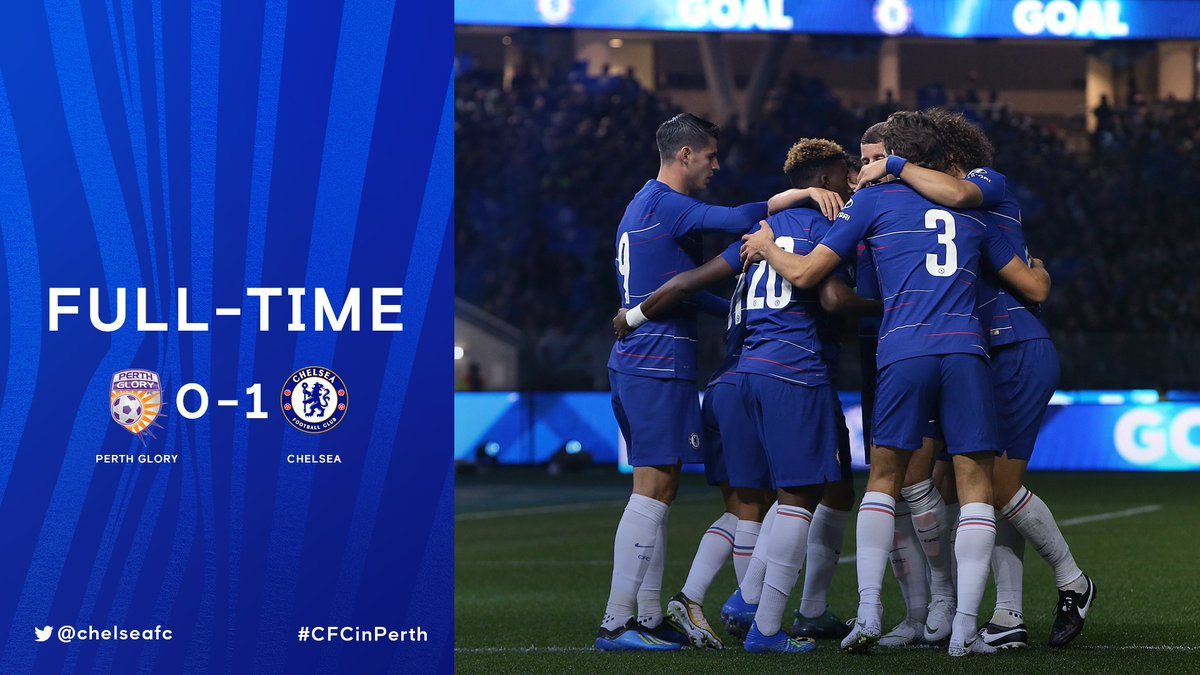Perth Glory vs Chelsea 0-1 Highlight Download