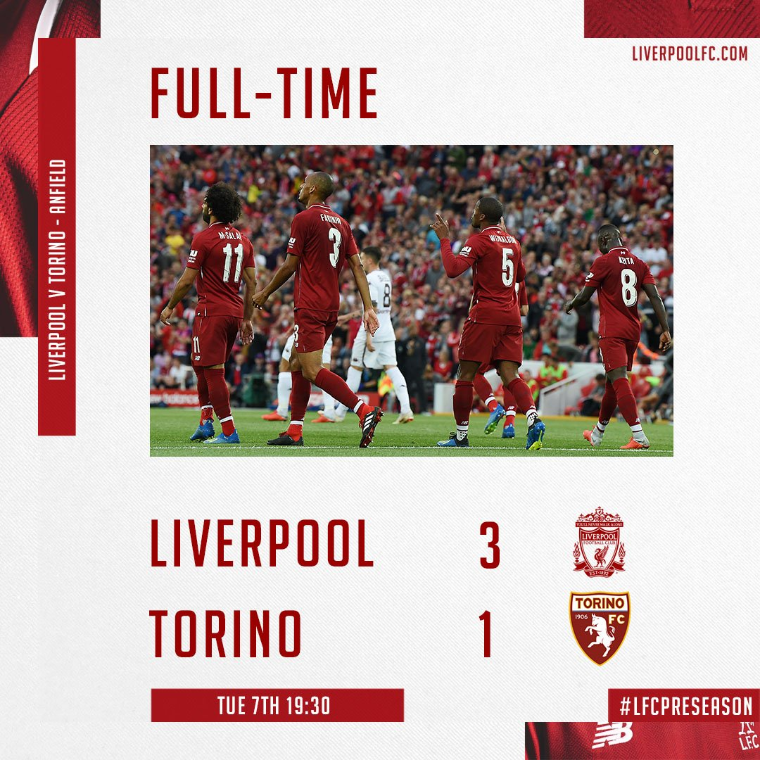 Liverpool vs Torino 3-1 Highlight Download