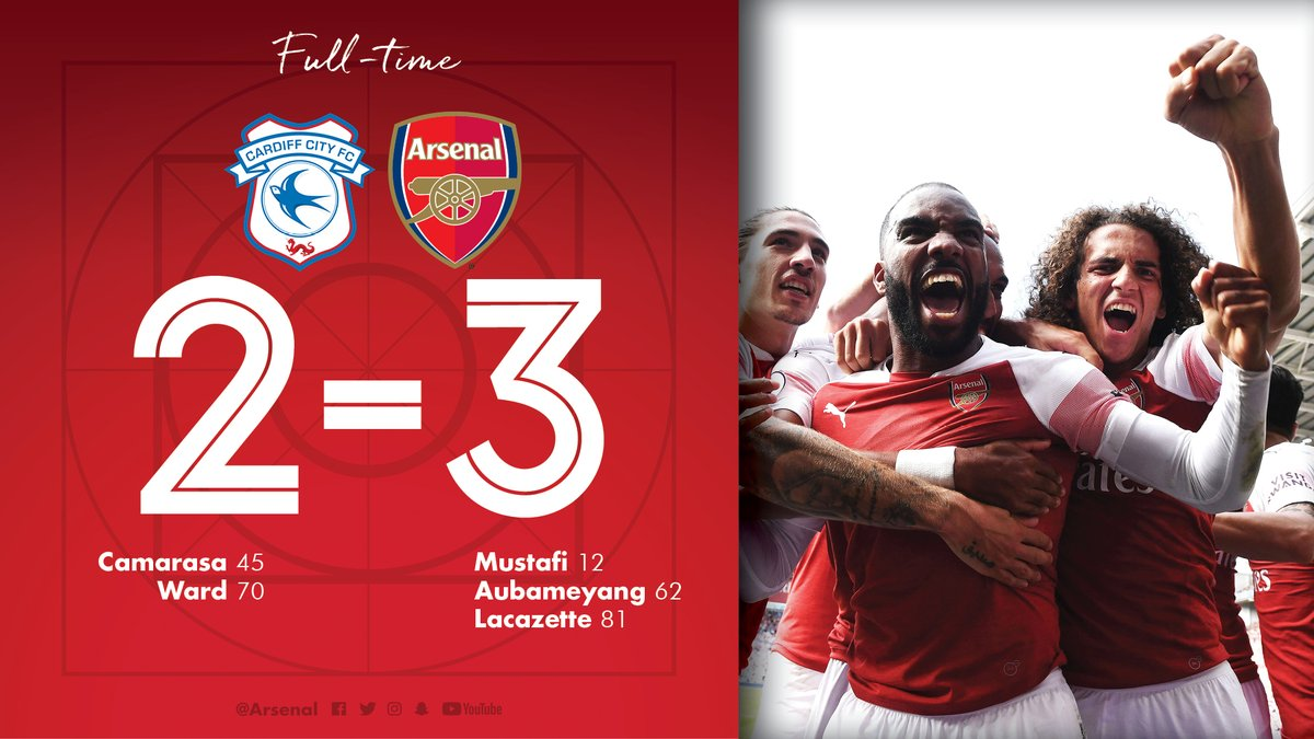 Cardiff City vs Arsenal 2-3 Highlight Download