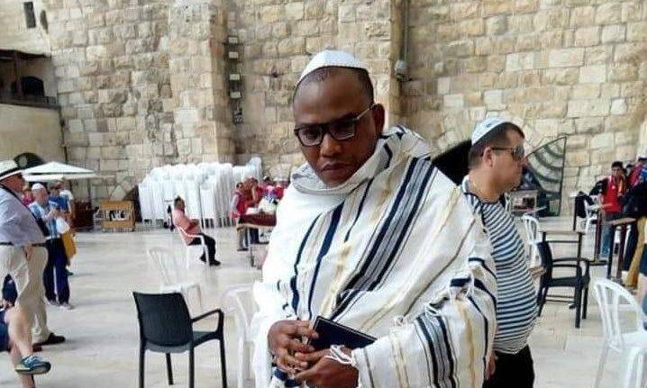 IPOB Leader Nnamdi Kanu Seen In Jerusalem