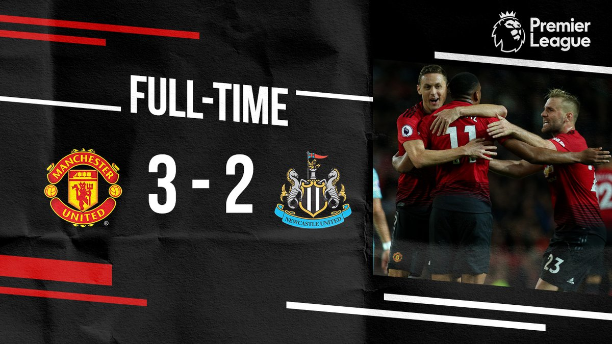 Manchester United Vs Newcastle United 3 2 Highlights Download Video Am Onpoint Tv