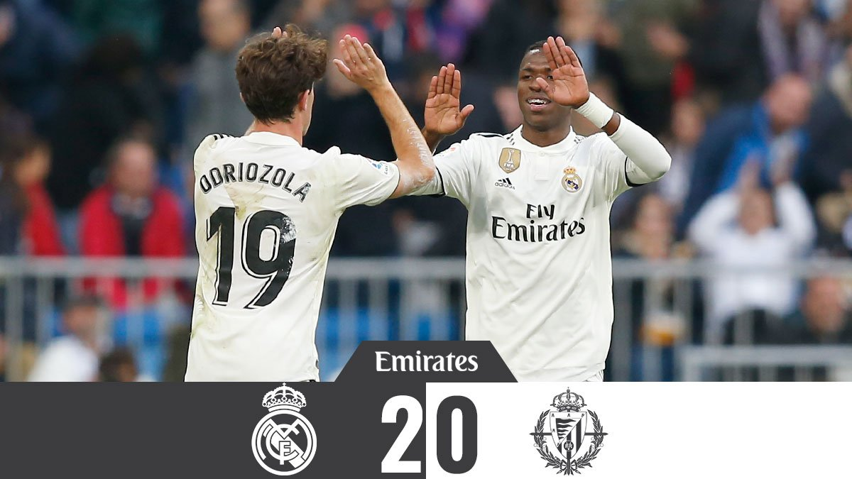 Real Madrid vs Real Valladolid 2-0 Highlight Download