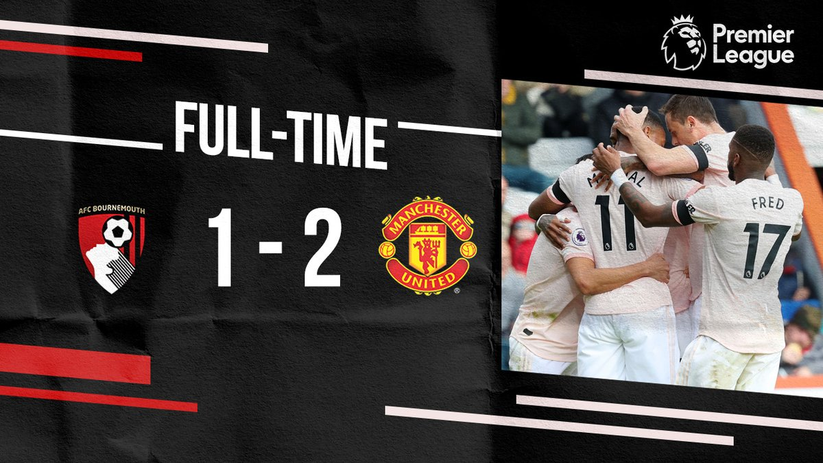 Bournemouth vs Manchester United 1-2 Highlight Download