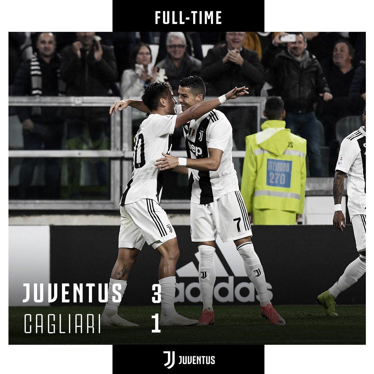 Juventus vs Cagliari 3-1 Highlight Download