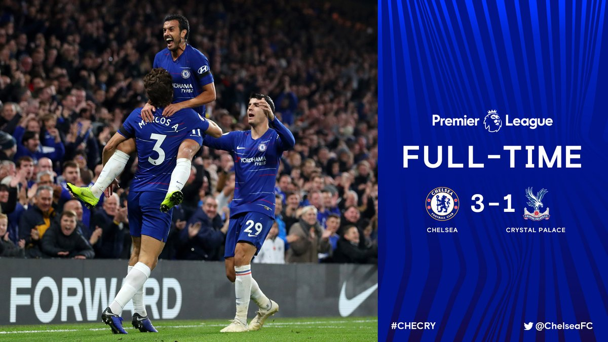 Chelsea vs Crystal Palace 3-1 Highlight Download