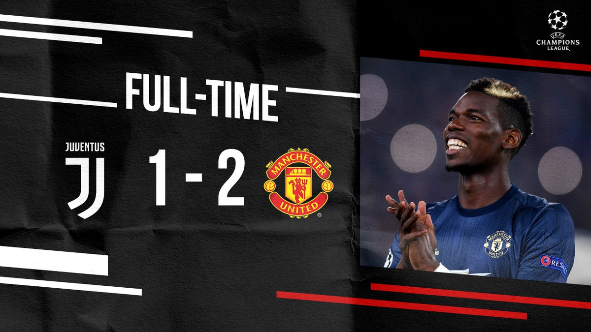Juventus vs Manchester United 1-2 Highlight Download