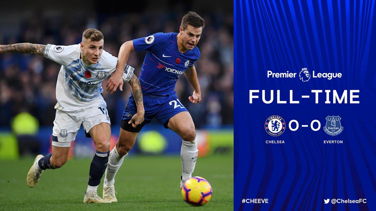 Chelsea vs Everton 0-0 Highlight Download