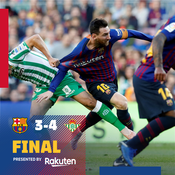 Barcelona vs Real Betis 3-4 Highlight Download