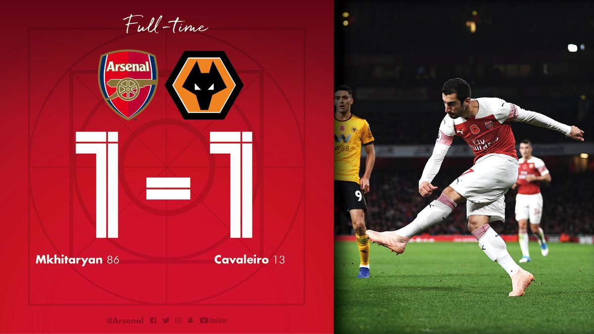 Arsenal vs Wolves 1-1 Highlight Download