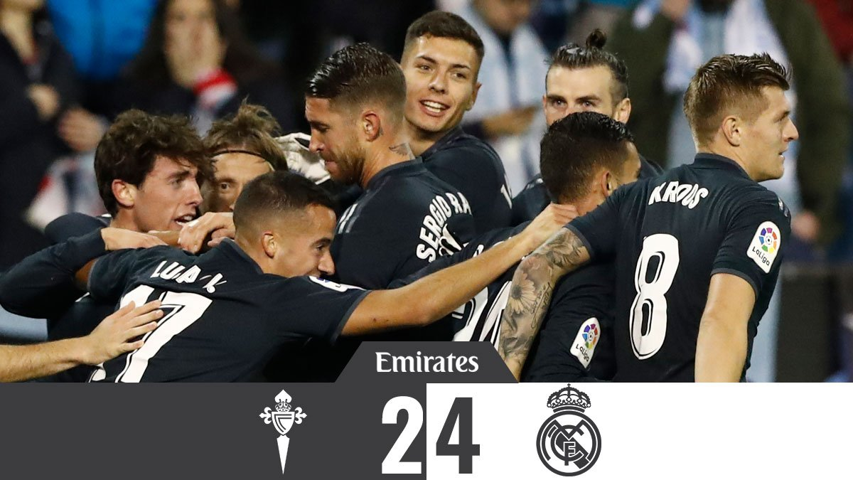 Celta Vigo vs Real Madrid 2-4 Highlight Download