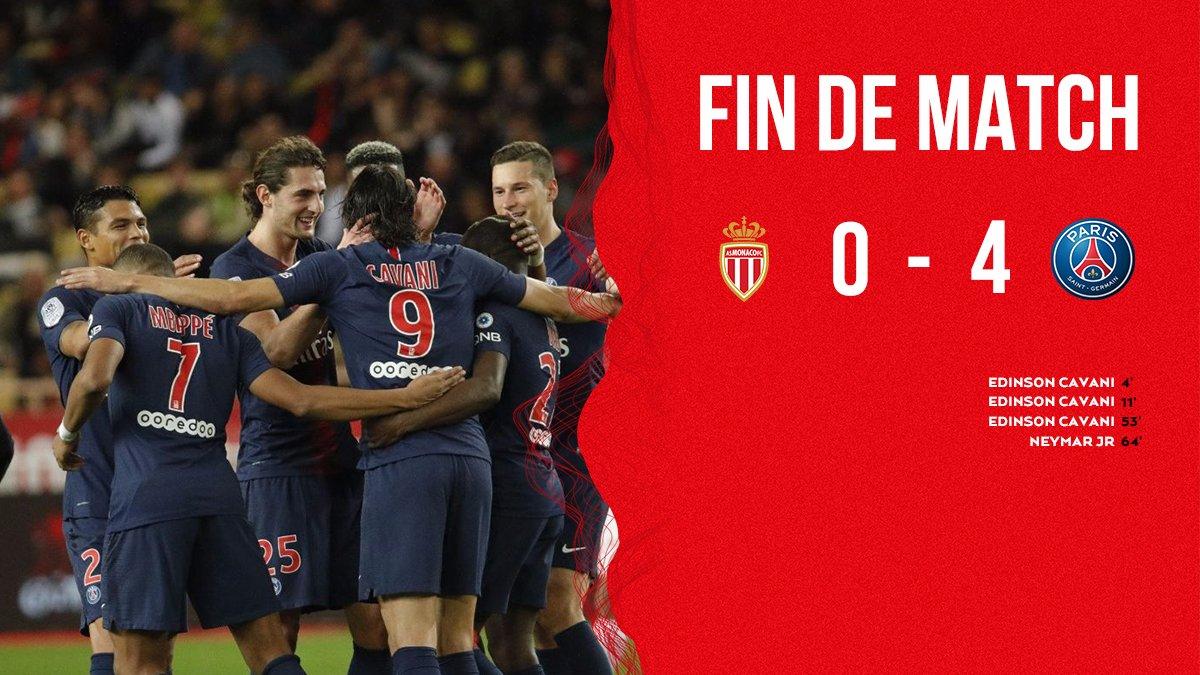 Monaco vs PSG 0-4 Highlight Download