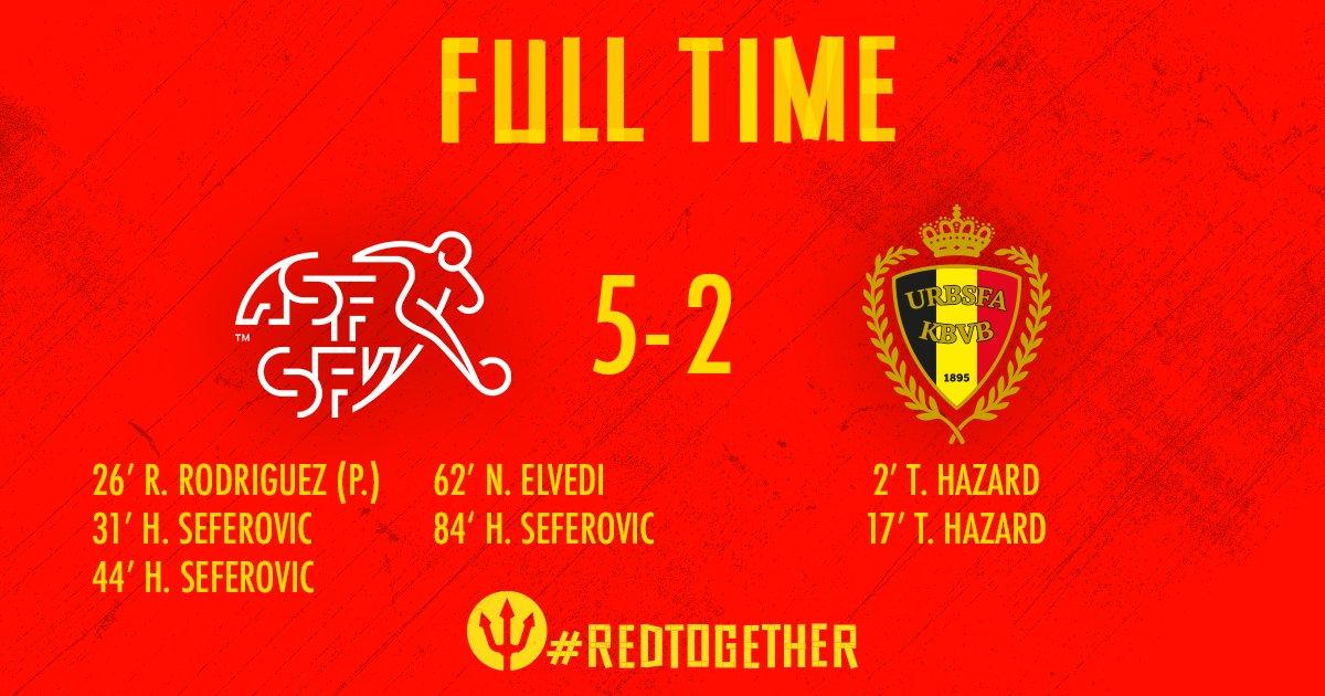 Switzerland vs Belgium 5-2 Highlight Download