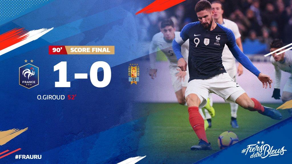France vs Uruguay 1-0 Highlight Download