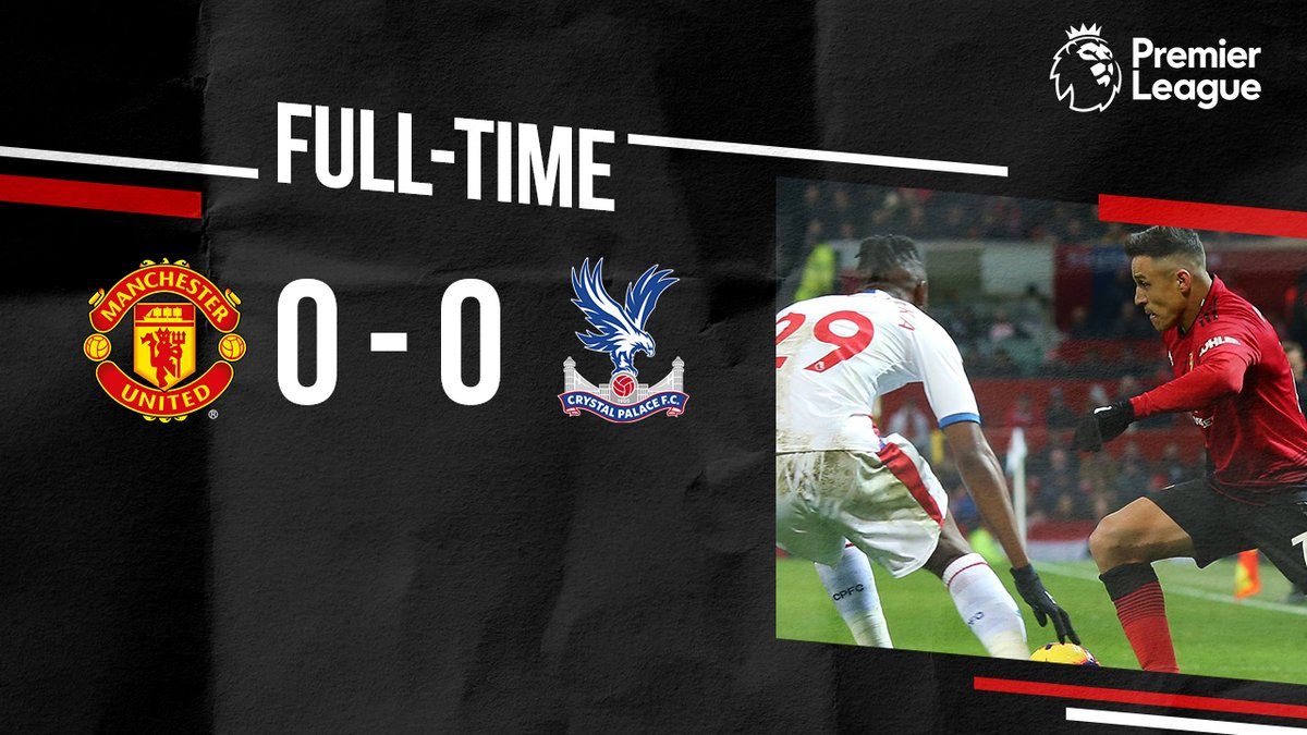 Manchester United vs Crystal Palace 0-0 Highlight Download