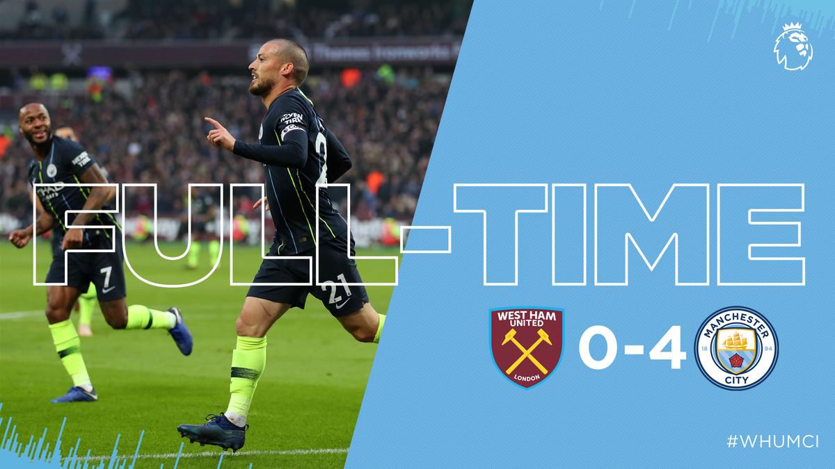 West Ham vs Manchester City 0-4 Highlight Download