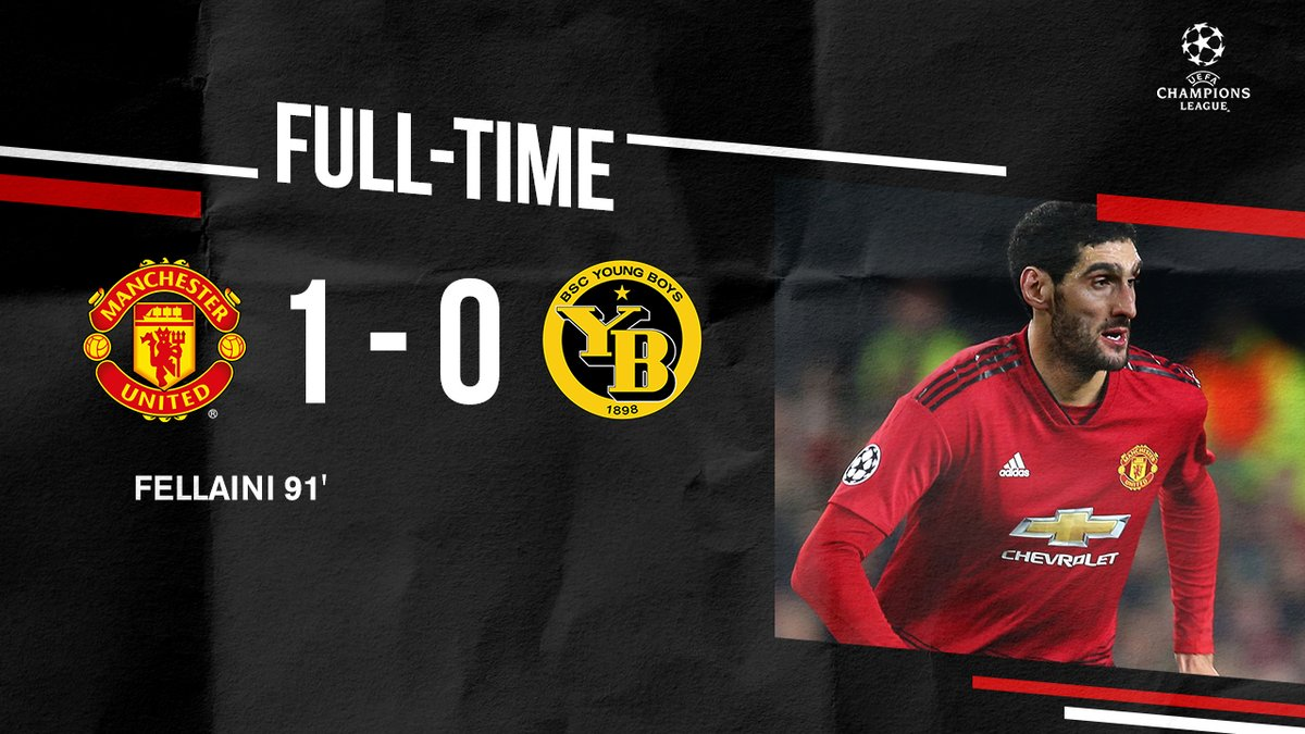 Manchester United vs Young Boys 1-0 Highlight Download