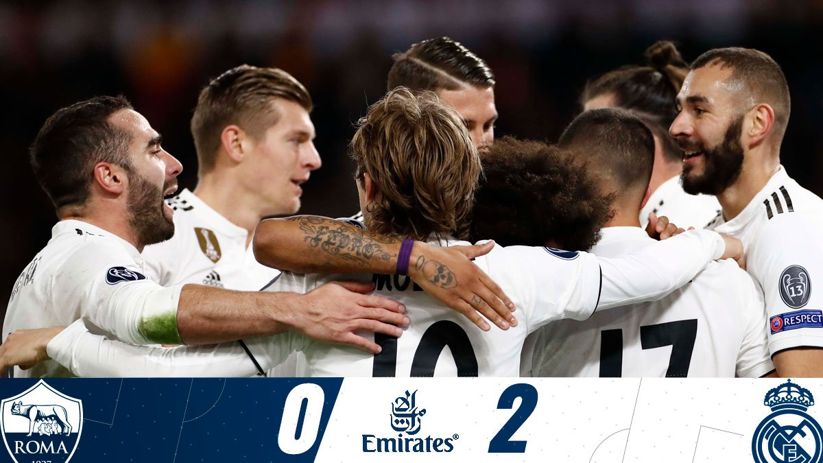 As Roma vs Real Madrid 0-2 Highlight Download