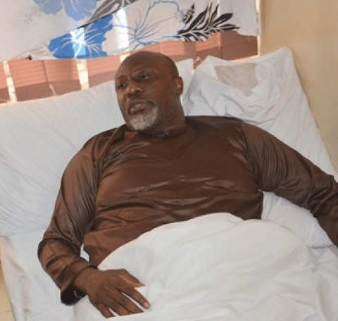 Video: Embattled Senator Melaye Speaks From Hospital Bed