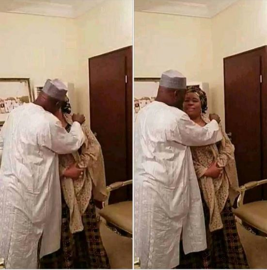 Atiku Seen Flirting With His Woman In Adamawa (Photos)