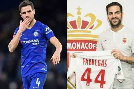 AS Monaco Signs Cesc Fabregas From Chelsea (Photos)