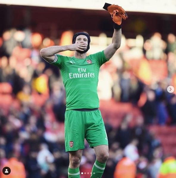 Arsenal Goalkeeper, Peter Cech To Retire At The End Of The Season