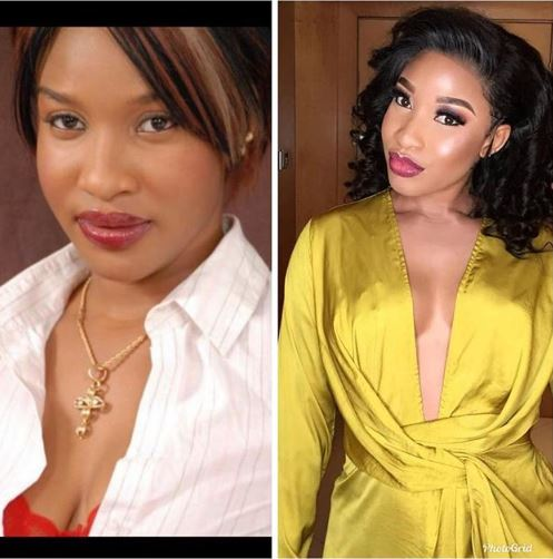 Tonto Dikeh Admits Undergoing Breast Surgery
