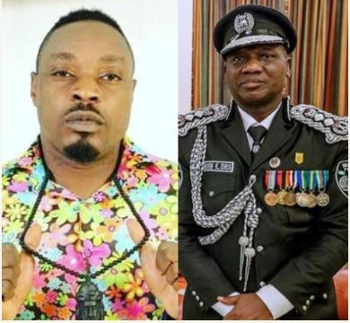 Check Out The Farewell Message Eedris Abdulkareem Wrote To Ex-Police IG, Ibrahim Idris