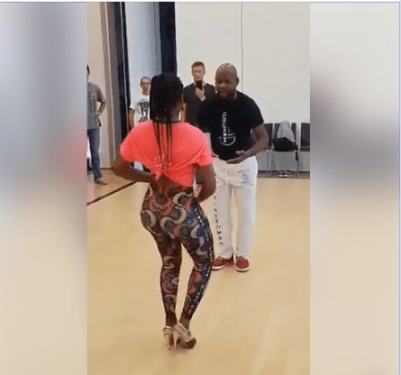 See What Housewife Who Wanted Her Husband To Lose Weight Did After Seeing His Sexy Female Salsa Instructor (Video)