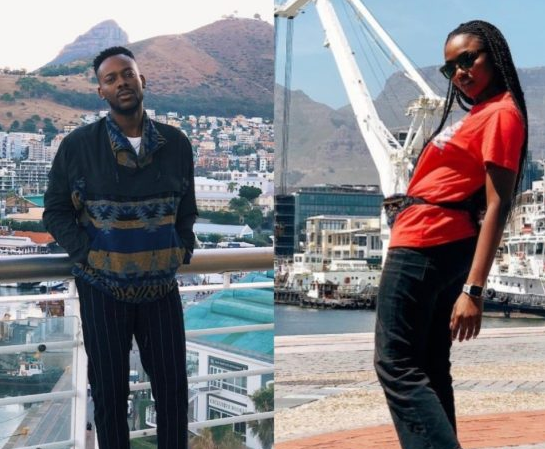 Adekunle Gold and Simi Are In Cape Town For Honeymoon.. See the Pics!