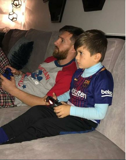 Even My 6-Year-Old Son Criticizes Me – Lionel Messi Opens Up
