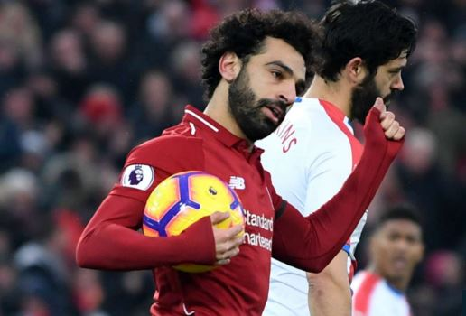 Mohamed Salah Named PFA Player Of The Month