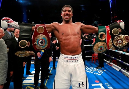 Nigeria's Anthony Joshua Set For US Debut Against Jarrell Miller