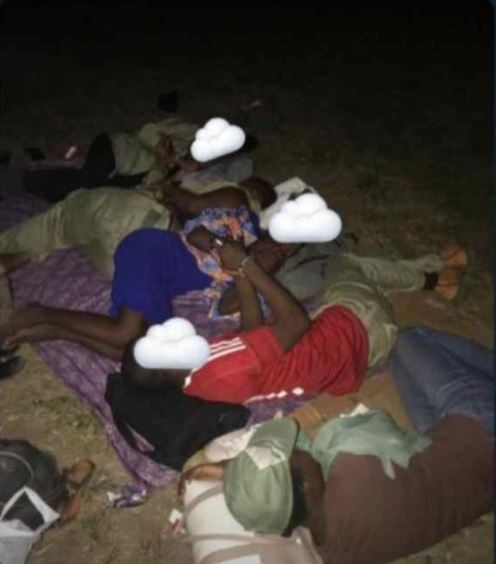 What A Shame: See How Corps Members On INEC Duty Were 'Packed Like Sardines' In The Dark (Photos)
