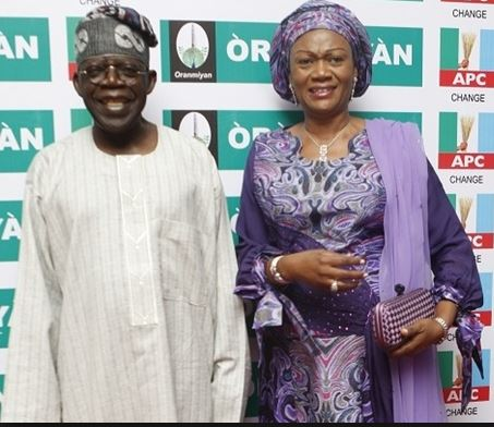 Why I Opposed My Wife's Third Term – Tinubu