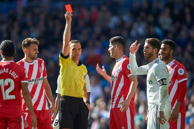 OMG! Check Out The Unwanted Record Sergio Ramos Broke As Real Madrid Were Defeated By Girona