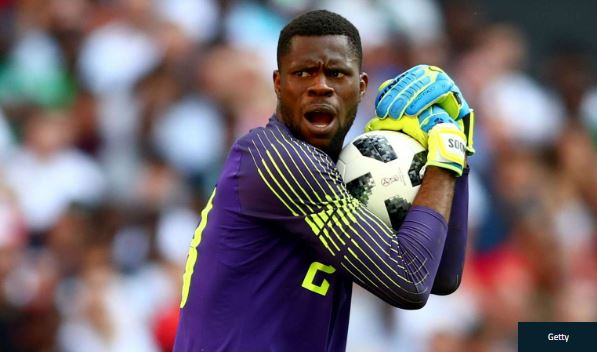Super Eagles Keeper, Francis Uzoho Fined And Suspended