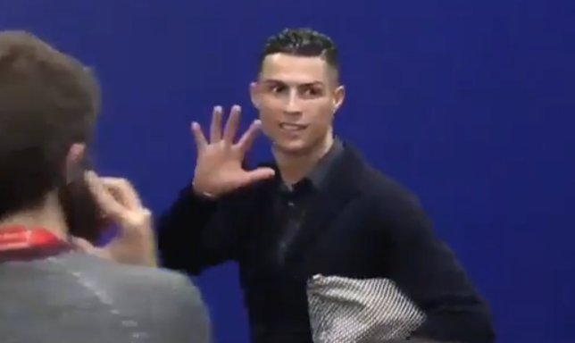 What Ronaldo Did After Juventus' Champions League Defeat To Athletico Madrid (Video)