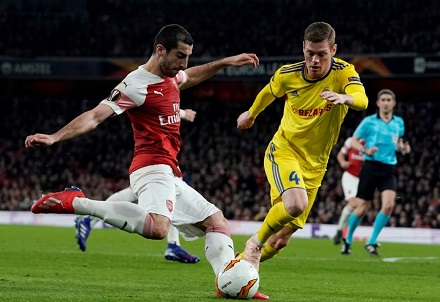 Europa League Last-16 Draw: Arsenal Land Rennes While Chelsea Face Dynamo Kiev