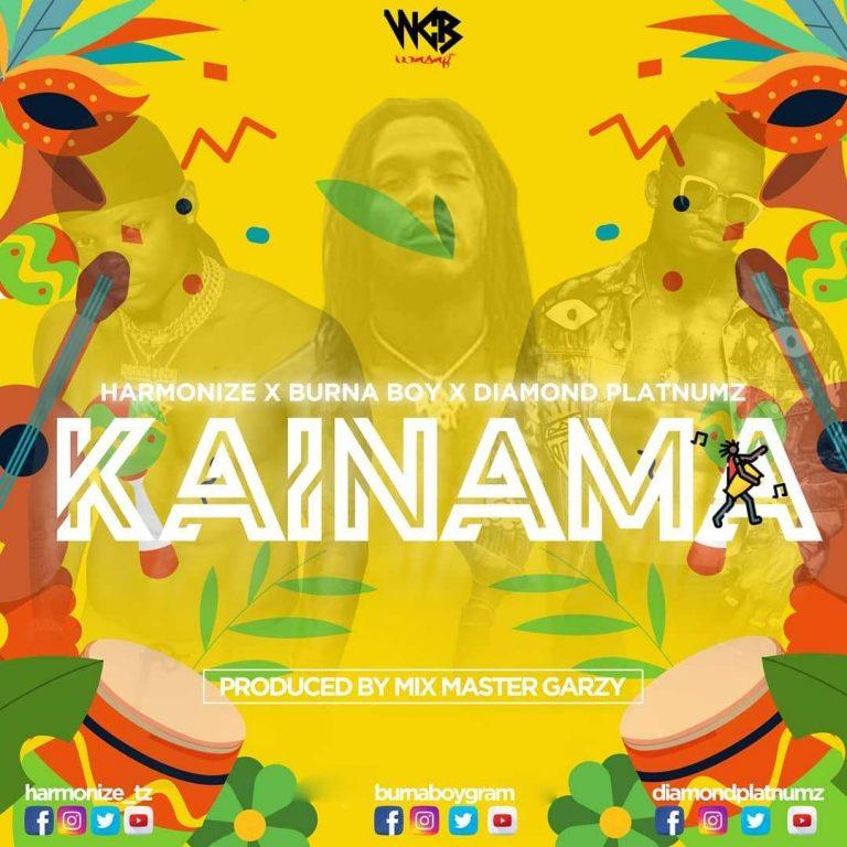 Harmonize ft Burna Boy & Diamond Platnumz – Kainama