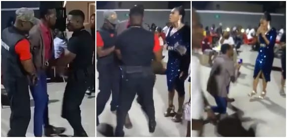 Dramatic Moment Nigerian Man Fakes Being Unable To Pay For A Date To Propose To His Girlfriend (Video)
