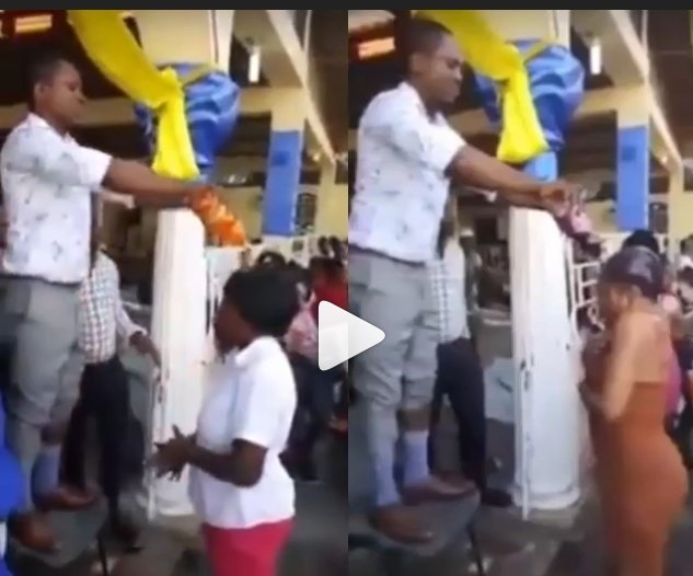 Pastor Baptizes Church Members With Coca-Cola And Fanta (Video)